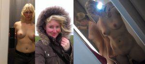 schuechterne exfreundin auf privaten nackt fotos