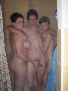 swinger club joyclub fotos in der dusche mit zwei frauen